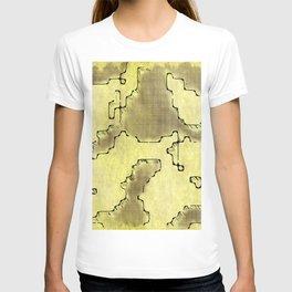 fantasy dungeon maps 8 T-shirt