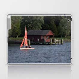 Boating on the Connecticut River Laptop & iPad Skin