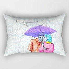 No Offense Rectangular Pillow