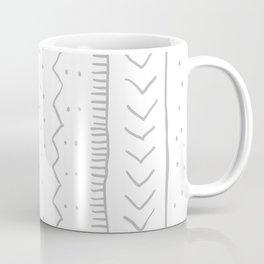 Moroccan Stripe in Grey Coffee Mug