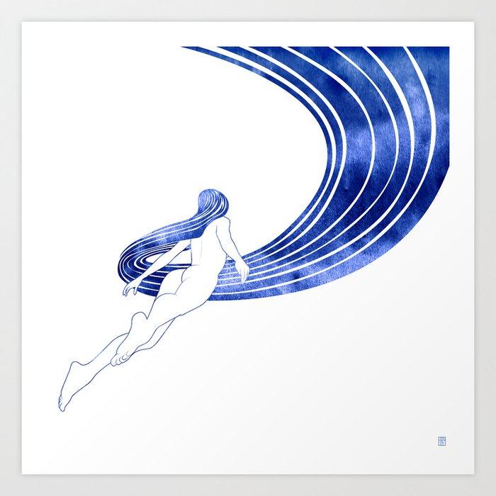 Nereid XIII Art Print