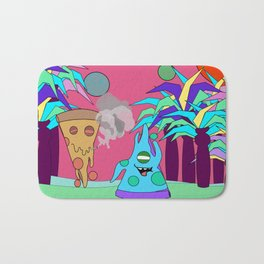 Pizza Planet Bath Mat