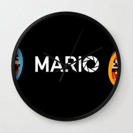 Super Mario Laboratories  Wall Clock