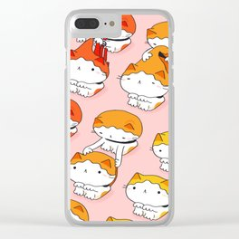 Cats Need Haircuts too! Clear iPhone Case