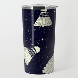 Space Shuttlecock Travel Mug