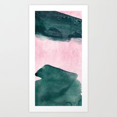 abstract 16 III Art Print