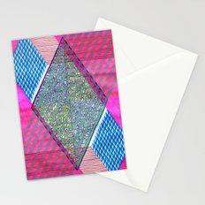 Isometric Harlequin #10 Stationery Cards