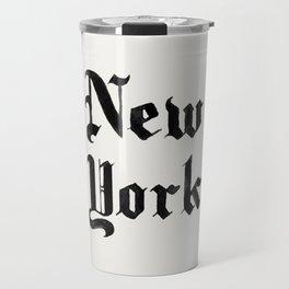 New York (Watercolor) Travel Mug