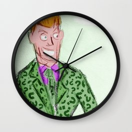 Frank Gorshin, the Riddler Wall Clock