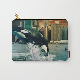 Wild City Whale Carry-All Pouch