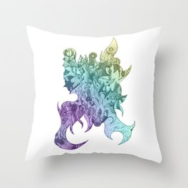 Addicted 1 (Dawn of dreamy sea version) Throw Pillow