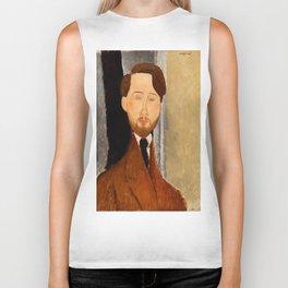 "Amedeo Modigliani ""Portrait of Léopold Zborowski"" Biker Tank"