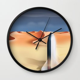 Starship Wall Clock