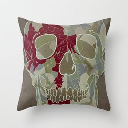 Road Map to Hell Throw Pillow