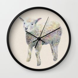 creamy kid Wall Clock