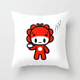 qiqi qiqi qiqi.... Throw Pillow