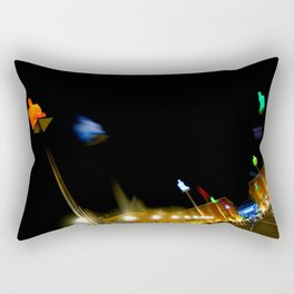 Colors of the Night at Place Massena in Nice Rectangular Pillow