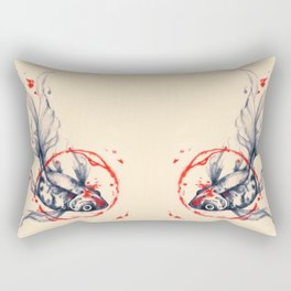 Fish Abstract Rectangular Pillow