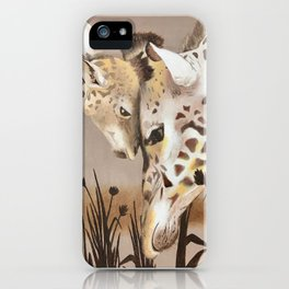 Giraffe #3 iPhone Case