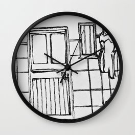 Inside the room Wall Clock