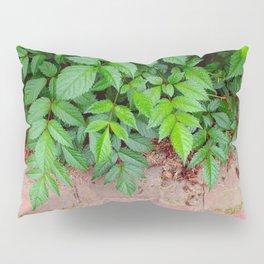 leafy brick Pillow Sham