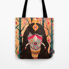 The Tree Witch Tote Bag