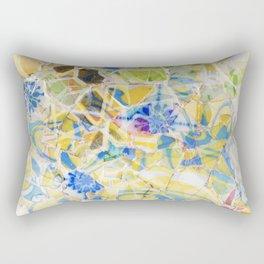 Mosaic of Barcelona II Rectangular Pillow
