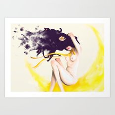 Sailor Luna Art Print