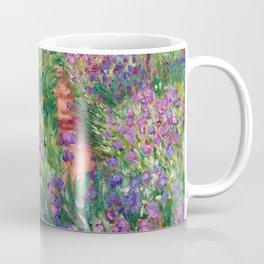"""Claude Monet """"The iris garden at Giverny"""", 1900 Coffee Mug"""