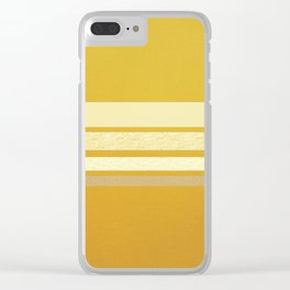 Colonel Mustard Clear iPhone Case
