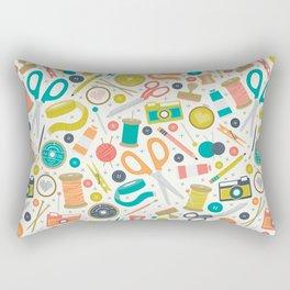Get Crafty Rectangular Pillow