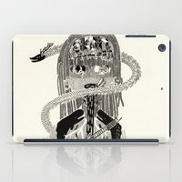 biology iPad Cases featuring Soul Biology  by Ursula Hart