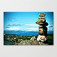 Rocks to Heaven Canvas Print