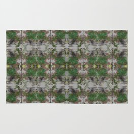 The Butterfly Effect Greens  Rug