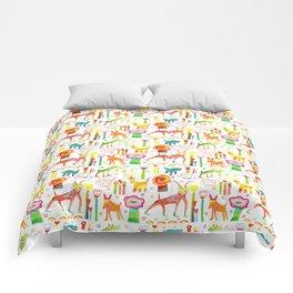Animal Garden Comforters