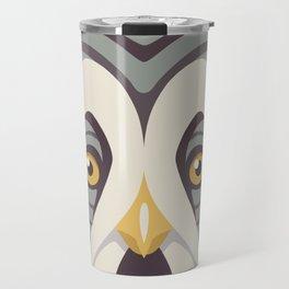 Great Gray Owl Travel Mug