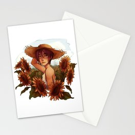 Sunflower Rin Stationery Cards