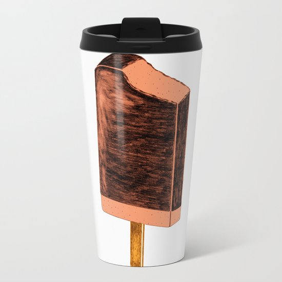 Keep Cool  (peach) Metal Travel Mug