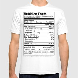 Human Nutrition Facts T-shirt