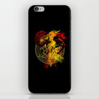 fullmetal iPhone & iPod Skins featuring Alchemy by Coffeewatson