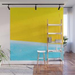 Sea & Sand Watercolor painting Abstract Wall Mural
