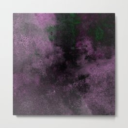 Dusk (Abstract, acrylic painting) Metal Print