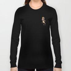 Jurassic Park Pin-Ups ~ Ellie Sattler Long Sleeve T-shirt