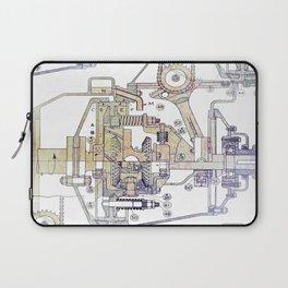 Mechanical Diagram Laptop Sleeve