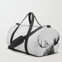 Moose - Black & White Duffle Bag