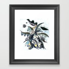 arbre 2 Framed Art Print