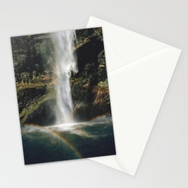 Feel the Water Fall Stationery Cards