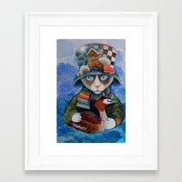 elvis Framed Art Prints featuring Elvis by oxana zaika
