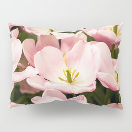 Pink Flowers (Color) Pillow Sham