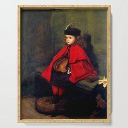 """John Everett Millais """"My First Sermon"""" Serving Tray"""